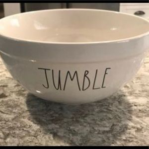 "🤍Rae Dunn🤍 ""Jumble"" ceramic medium mixing bowl"